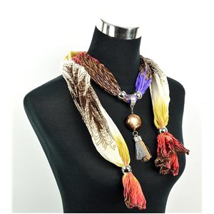 Polyester Jewelry Scarf Spring Collection 2017 70959