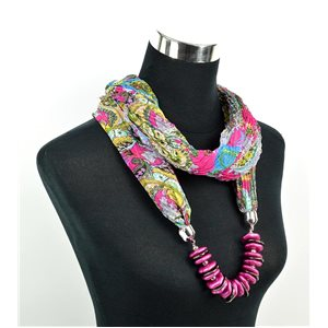 Foulard Bijoux polyester Collection 70962