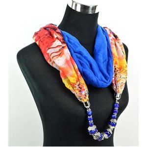 Polyester Jewelry Scarf Spring Collection 2017 71035