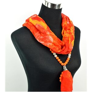 Foulard Bijoux polyester Collection 71041