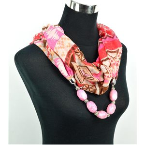 Foulard Bijoux polyester Collection 2017 71052