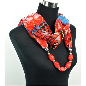 Foulard Bijoux polyester Collection 2017 71053