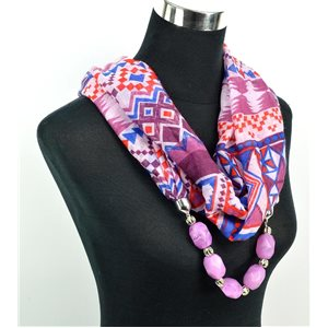 Foulard Bijoux polyester Collection 2017 71055