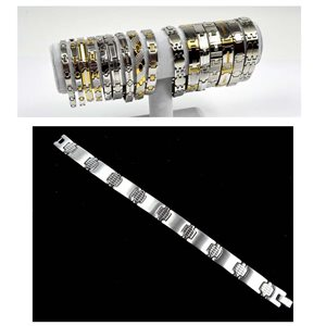Stainless Steel Bracelet L21cm Steel Color New Collection 72775