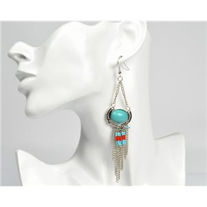 1p Earrings ATHENA New Ethnic Collection 2017 72814