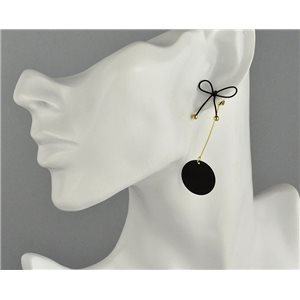1p Boucles Oreilles Pendantes à clou Collection Graphika 2018 73836