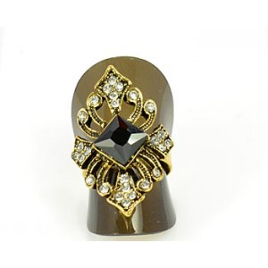 Bague Strass réglable New Style Full Strass 65576
