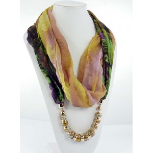 Collier Foulard Bijoux Collection Fashion 65245
