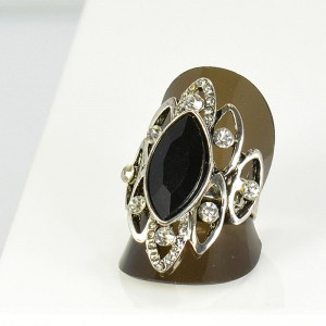 Bague Strass réglable New Style Full Strass 66015