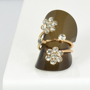 Rhinestones Adjustable Ring New Style Full Rhinestone 66054