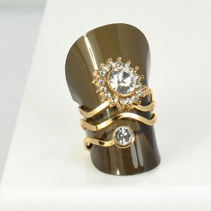 Bague Strass réglable New Style Full Strass 66065
