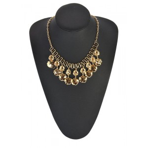 Necklace Fashion Trends Gold metal 66680