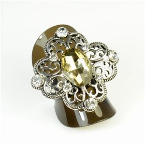 Bague Strass réglable New Style Full Strass 65960