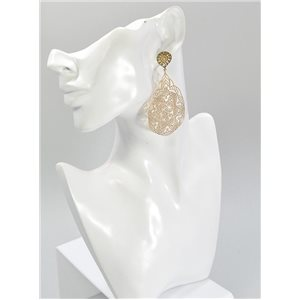 1p Boucles Oreilles Collection mode Filigrane 67049
