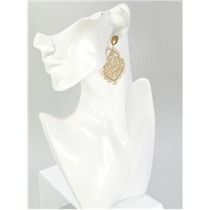1p Boucles Oreilles Collection mode Filigrane 67061