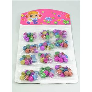 12 Blisters de 10 Mini Pinces Enfant 12mm 124