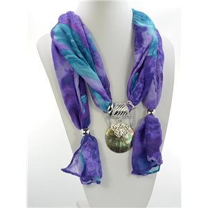 Scarf Necklace Jewelry Polyester Spring Summer Collection 2016 68460