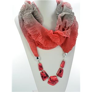 Scarf Necklace Jewelry Polyester Spring Summer Collection 2016 68467
