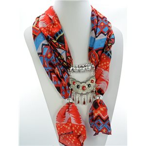 Scarf Necklace Jewelry Viscose Spring Summer Collection 2016 68485