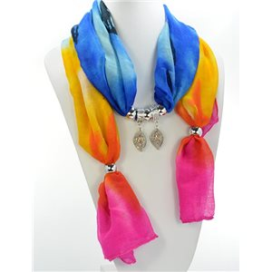 Scarf Necklace Jewelry Viscose Spring Summer Collection 2016 68416