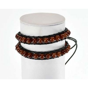 Beads Bracelet Fantasy on adjustable wire 59233