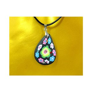 Necklace pendant with his pate Polymer New Spring Collection 65729