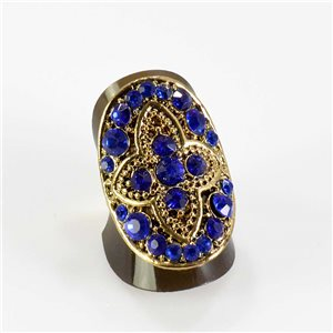 Bague Strass réglable Full Strass GOLD Vintage Collection 67625
