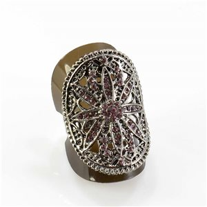 Bague Strass réglable Full Strass SILVER Vintage Collection 67823