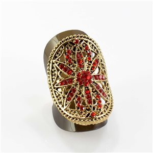 Bague Strass réglable Full Strass GOLD Vintage Collection 67829