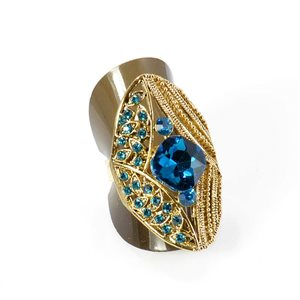 Bague Strass réglable Full Strass GOLD Vintage Collection 67921