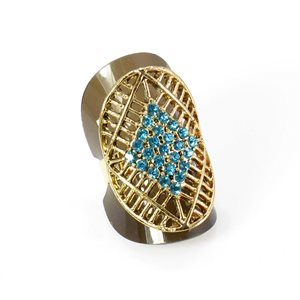 Bague Strass réglable Full Strass GOLD Vintage Collection 67941