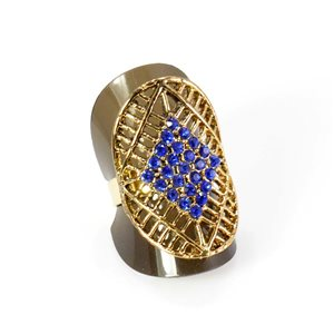 Bague Strass réglable Full Strass GOLD Vintage Collection 67943