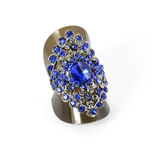 Bague Strass réglable Full Strass SILVER Vintage Collection 67952
