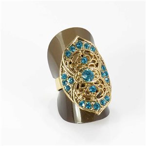 Bague Strass réglable Full Strass GOLD Vintage Collection 67977