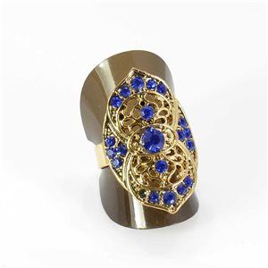 Bague Strass réglable Full Strass GOLD Vintage Collection 67979