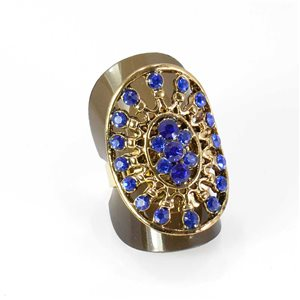 Bague Strass réglable Full Strass GOLD Vintage Collection 67997