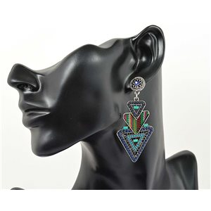 1p Earrings ATHENA TOP Ethnic Collection Summer 69444
