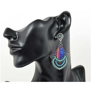 1p Earrings ATHENA TOP Ethnic Collection Summer 69456