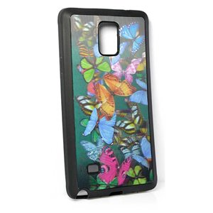 Coque silicone anti-chocs pour Samsung Galaxy Note4 Coque 3D Hologramme 65221