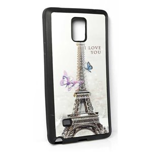 Coque silicone anti-chocs pour Samsung Galaxy Note4 Coque 3D Hologramme 65227