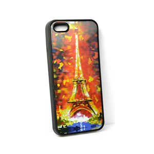 Coque silicone anti-chocs pour iPhone 5 Coque 3D Hologramme 65098
