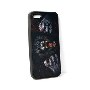 Coque silicone anti-chocs pour iPhone 5 Coque 3D Hologramme 65109