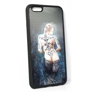 Coque silicone anti-chocs pour iPhone 6+ Coque 3D Hologramme 65151