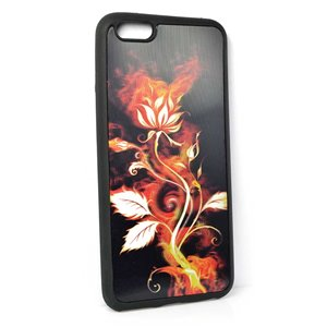 Coque silicone anti-chocs pour iPhone 6+ Coque 3D Hologramme 65152
