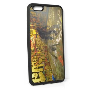 Coque silicone anti-chocs pour iPhone 6+ Coque 3D Hologramme 65161