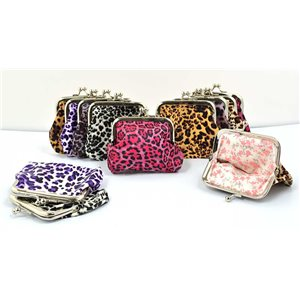 12 wallets L10cm * H9cm collection panther leopard 70845