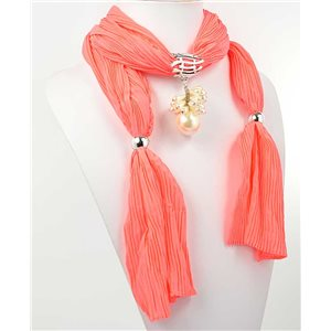 Collier Foulard Bijoux Polyester New Collection 70940