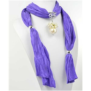 Collier Foulard Bijoux Polyester New Collection 70941