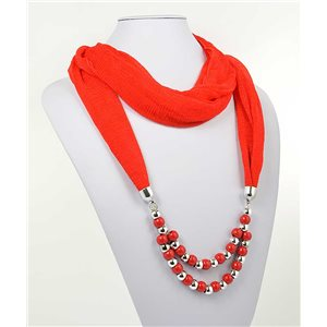 polyester scarf necklace jewelry new collection 2017 70988