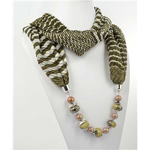 Collier Foulard Bijoux Polyester New Collection 2017 70973